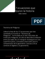 17 Ecuaciones Historicos