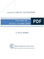 RA 1405 Law on Bank Secrecy of Bank Deposits