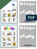 Verbs1 Bingo Bw