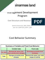 Cost & Revenue Stream