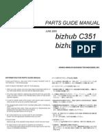 Konica_Minolta_-_Parts_manual_bizhub_c450_c351_pm