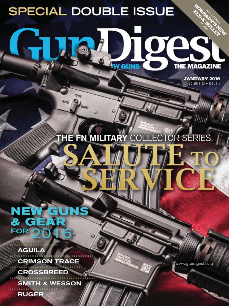 GD - January 2016 | Caliber | Cartridge (Firearms)