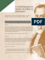 Araujo & Beyer - 2013 - Autoridad y Autoritarismo en Chile