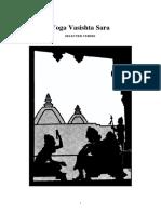 Yoga Vasishtha Sara