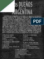 Majul, Luis. Los dueños de la Argentina