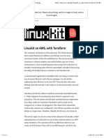 Linuxkit on AWS, With Terraform – DevOps College
