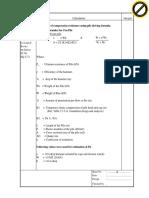 Hiley Calculation - Kesbewa 400