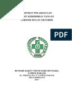 Laporan Audit Cuci Tangan Oktober 2017