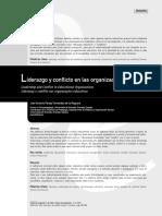 Liderazgo y Conflicto en Las Organizaciones Educativas