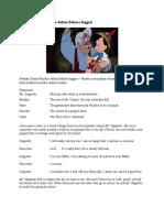 Naskah Drama Pinokio Dalam Bahasa Inggris