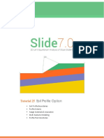 Tutorial 25 Soil Profile Modeling