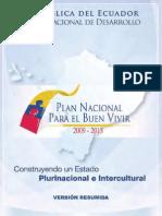 Resumen Plan Nacional de Desarrollo 2009-2013