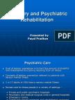 Recovery and Psychiatric Rehabilitation
