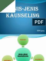 JENIS-JENIS KAUNSELING.pptx