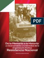De La Memoria a La Historia