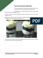 Oreo Cheese Cake Cream Lumer