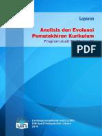 Laporan Analisis Dan Evaluasi Pemutakhiran Kurikulum Iwan