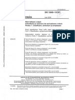 SR 1848 1 C91 09 Classifications Clasificare