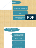 KADAR KOLESTEROL TOTAL PADA USIA 25 – 60.pptx