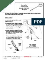 Insertion Tool