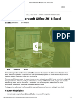 Diploma in Microsoft Office 2016 Excel - Visio Learning
