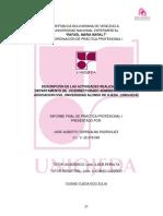 Informe de Pasantias i Jose Torrealba