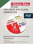 pay claim generator v2111-33307
