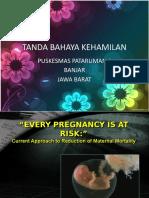 51022799 Tanda Bahaya Kehamilan