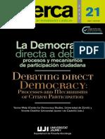 Recerca - Democracia Directa a Debate