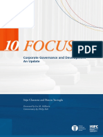 Pertemuan 1 - Classens and Yurtoglu - Corporate Governance and Development - An Update.pdf