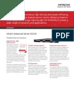 Hitachi Datasheet Advanced Server Ds120