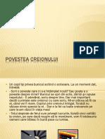 POVESTEA CREIONULUI.pptx
