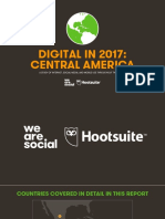 2017 Global We Are Social - Central America