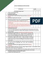 Checklist Pemeriksaan Sistem Motorik