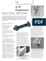 The Re Use of Threaded Fasteners