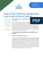 L'éducation des jeunes dans le monde - rapport UNESCO