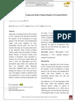 Studies of Algae Flora of Sugarcane Fields of Digras Region of Yavatmal District