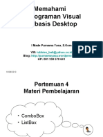 Menggunakan ComboBox & ListBox Pada Visual Basic 6.0