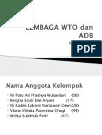 Lembaga Wto Dan Adb