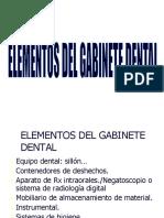 Elementos Del Gabinete Dental