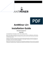 AntMiner L3+ Installation Guide