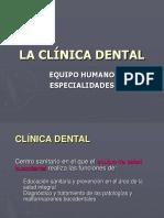 Especialidades de La Odontologia
