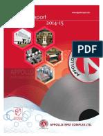 Apoloispat 2015 Annual