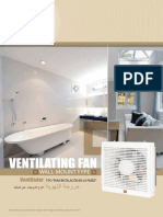 Wall Mounted Ventilating Fans