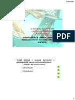 Ud 8. Limpieza, Desinfeccion y Esterilizacion