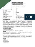 05 Sillabus Derecho Administrativo i 2015 0