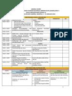 Jadwal Acara Upgrading SNARS Edisi1 Bagi Surveior KARS, Hotel Harris Kelapa Gading, 9-11 Jan 2018(1)