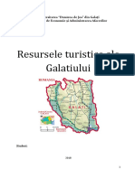 Resursele Turistice Ale Galatiului