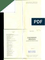 PIKAZA, X., Enchiridion Trinitatis. Textos Básicos Sobre El Dios de Los Cristianos, 2005