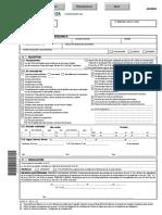 Formulario Petición Permisos